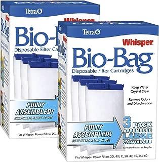 Tetra Whisper ATS26170 Assembled Bio-Bag Filter Cartridges, Large 3 Count