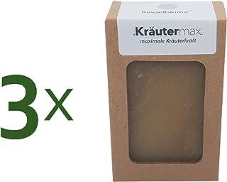 Kräutermax Ringelblume Haarseife 3 x 100 g Natur Kosmetik