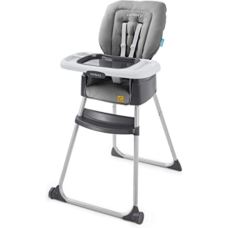 Century Dine On 4-in-1 High Chair, Grows with Child with 4 Modes, Metro