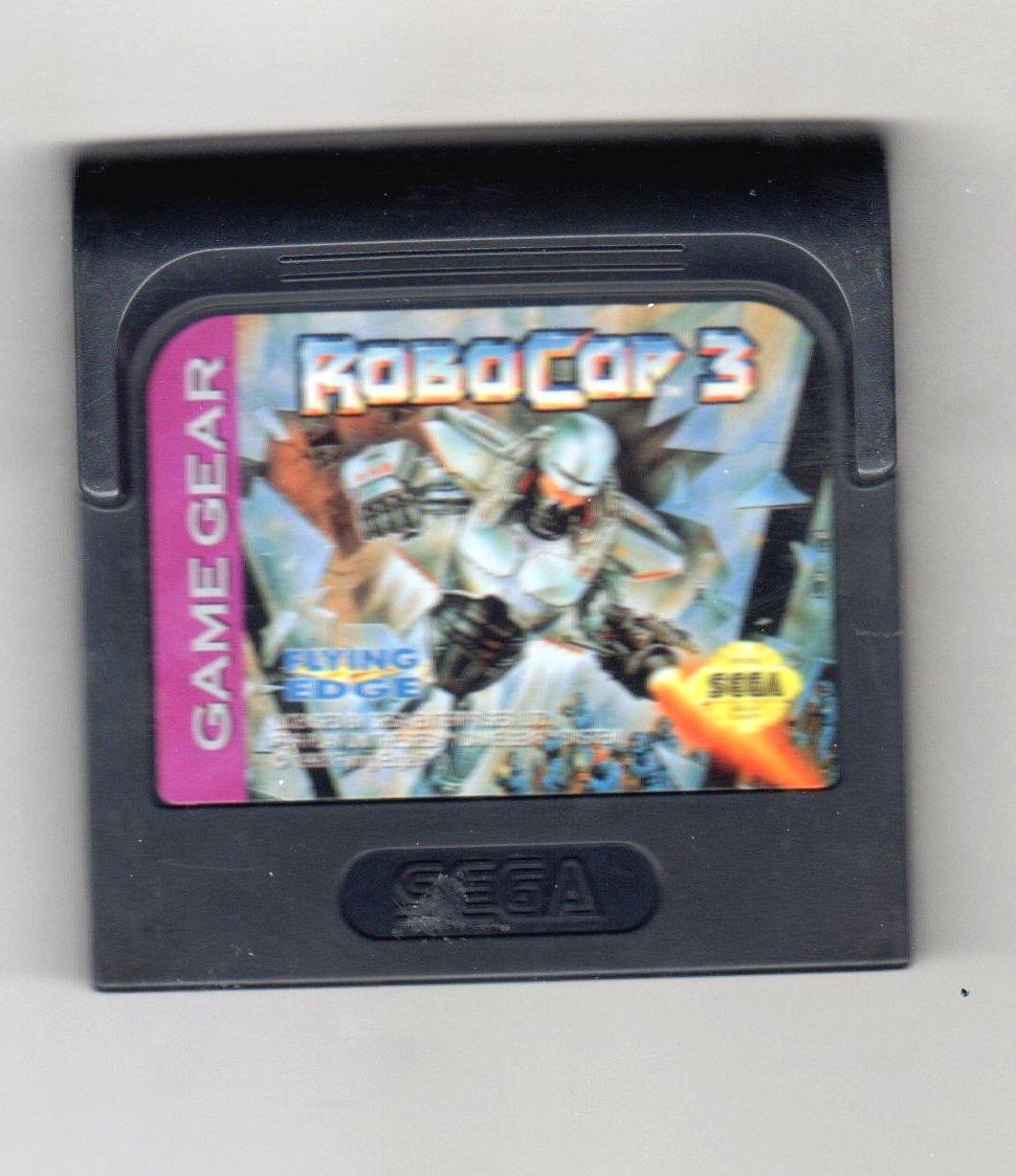 Amazon Com Robocop 3 Sega Game Gear Video Games