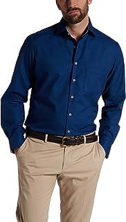 Eterna Long Sleeve Shirt Modern FIT Structure Structured