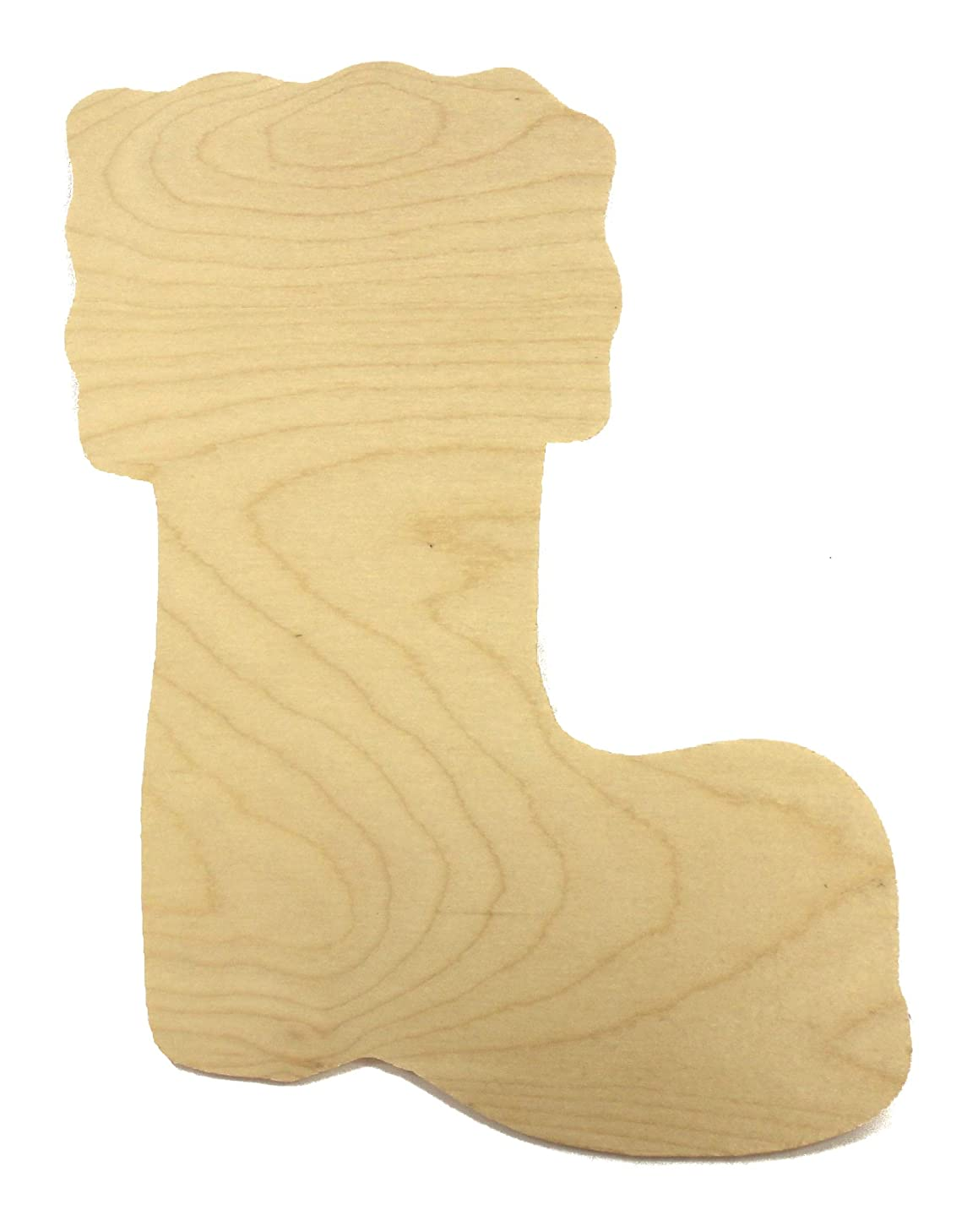 Wooden Christmas Stocking 12