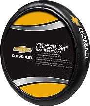 Plasticolor Chevy Gold Bowtie Style Premium Speed Grip Steering Wheel Cover
