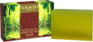 Vaadi Herbals Becalming Tea Tree Soap Anti Acne Therapy, 75g