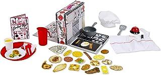 سفارش Melissa & Doug! تنظیم شام غذا با Play Food - آشپز ، سرور یا مشتری باشید