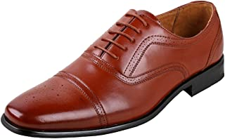 Mens Wing Tip Dress Shoes | Comfortable Dress Shoes I Formal | Lace-up | Classic Design |