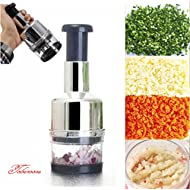 Kitchen Pressing Vegetable Onion... Kitchen Pressing Vegetable Onion Garlic Food Slicer Chopper Cutter Peeler Dicer