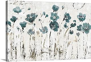 Abstract Balance VI Blue Canvas Wall Art Print, 36