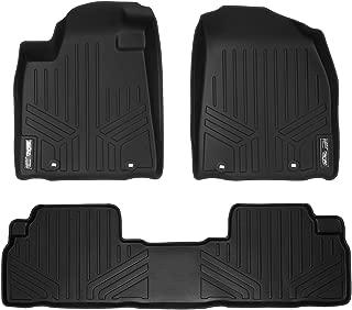 MAXLINER Floor Mats 2 Row Liner Set Black for 2013-2015 Lexus RX350/RX450h