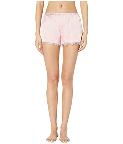 fleur du mal Lace Trim Tap Shorts (Coral Blush) Women