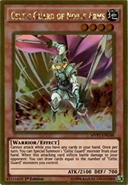 Yu-Gi-Oh! - Celtic Guard of Noble Arms (MVP1-ENG48) - The Dark Side of Dimensions Movie Pack Gold Edition - 1st Edition - Gold Rare
