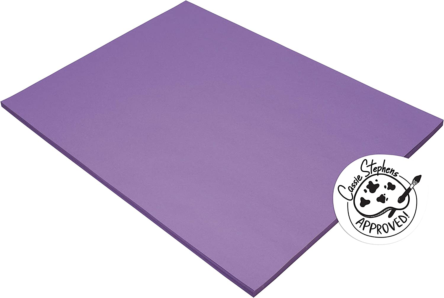 Tru-Ray Sulphite Construction Paper 18 Inches 50 x Large-scale sale Branded goods Violet 24