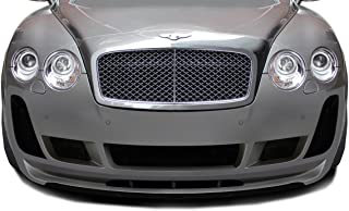 Aero Function Replacement for 2003-2010 Bentley Continental GT GTC AF-2 Front Lip Spoiler (GFK) - 1 Piece (Must be Used with AF-2 Front Bumper)