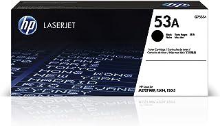 HP 53A Hewlett Packard Original LaserJet Colour Sphere Toner Cartridge, Black - Q7553A