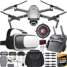 $1599 » DJI Mavic 2 Pro Drone with Hasselblad Camera FPV Flight Pilot Experience Bundle with Deco Essentials VR Viewer Headset Goggles + Filter Kit + 64GB SDXC Card, 2 Year Warranty Extension