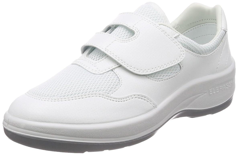 回転マーティフィールディング競う静電作業靴 クリーンルーム向け マジックタイプ スニーカー NU403 メンズ