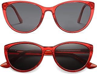 kids Cateye Sunglasses Girls Fashion Polarized Shades, UV400 Protection