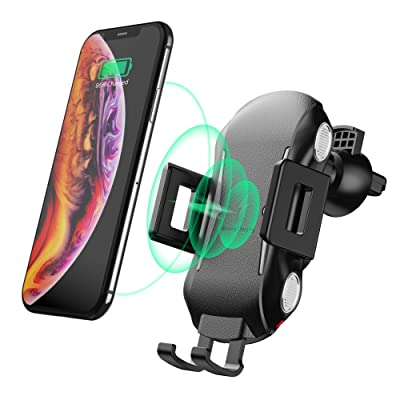 Wireless Car Charger Mount, Automatic Clamping ...