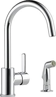 Peerless Precept Single-Handle Kitchen Sink Faucet with Side Sprayer, Chrome P199152LF