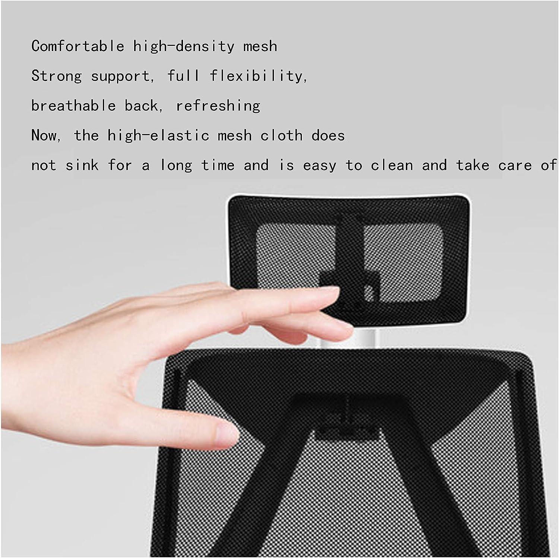 Chaise Ergonomique Bureau, Chaise de Bureau Ordinateur avec Flip-Out et Soutien Accoudoirs Taille réglable en Hauteur, Noir black2 Black4