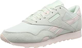 Reebok Women's Classic Nylon Trainers, Storm Glow/Pale Pink