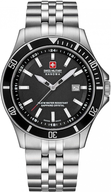 Swiss Military Hanowa Flagship Reloj de hombre cuarzo 42mm 06-5161.2.04.007