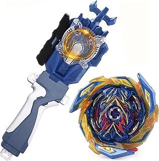 Battling Sparking String Launcher، Brave Valkyrie Top Burst Launcher Set، Strip Spin String Strip Strip Storage String Strip Storage String String Strip سازگار با همه سری Bey Burst - آبی