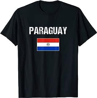 Paraguay T-shirt Paraguayan Flag Shirt Men/Women/Youth/Kids