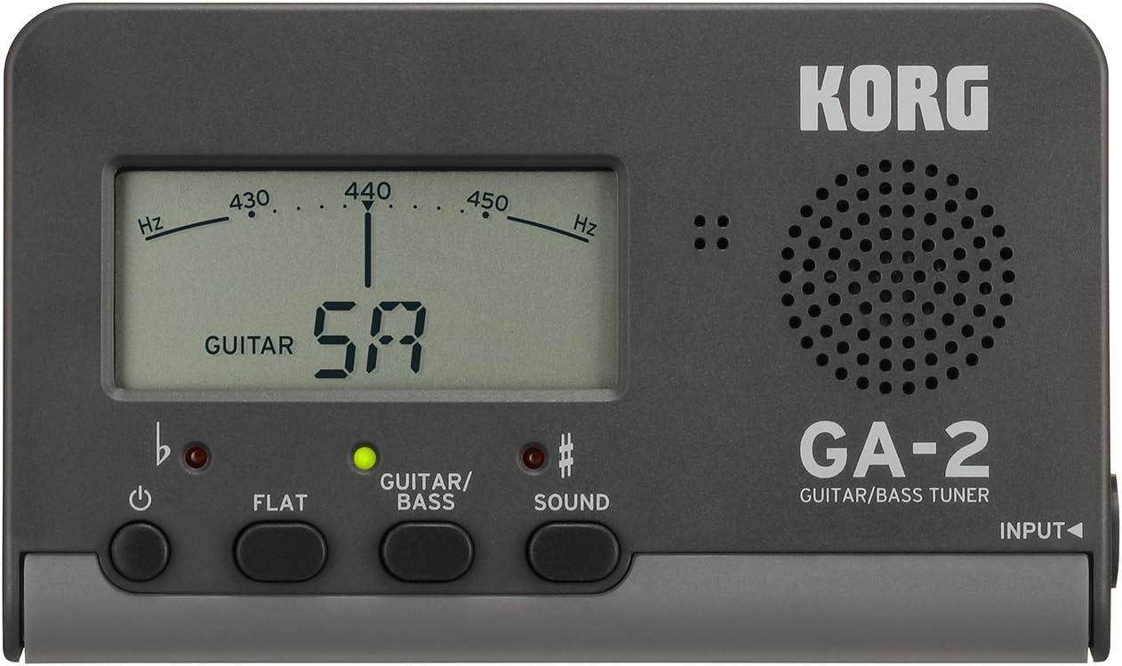 KORG ギター/ベース用チューナー GA-2
