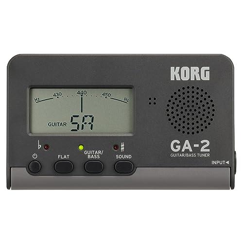 Korg GA-2Accordeur numérique pour guitare et basse