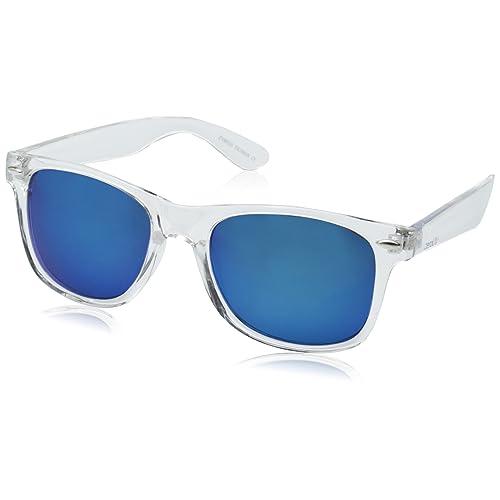 577440d8f6c2 zeroUV - Matte Black Horn Rimmed Sunglasses
