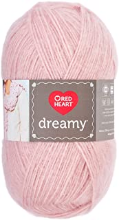 RED HEART Dreamy Yarn, Rose