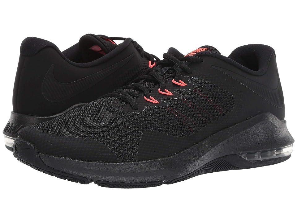 Nike Air Max Alpha Trainer (Black/Black/Bright Crimson) Men