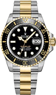 Sea-Dweller Solid 18k Yellow Gold and Oystersteel Men's Watch 126603