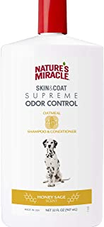 Nature's Miracle Supreme Odor Control Natural Oatmeal Dog Shampoo & Conditioner