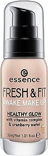 essence | Fresh & Fit Awake Make Up Foundation with Vitamin Complex & Cranberry Water | Fresh Sun Beige