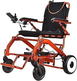Sillas de ruedas eléctricas para adultos Ligera silla de ruedas, silla de ruedas eléctrica plegable abierto rápido, energía eléctrica Sillas de ruedas duradero, seguro y fácil de conducir Sillas de ru