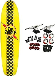 Krooked Skateboard Cruiser Complete Zip Zinger Nano Classic Yellow 7.125