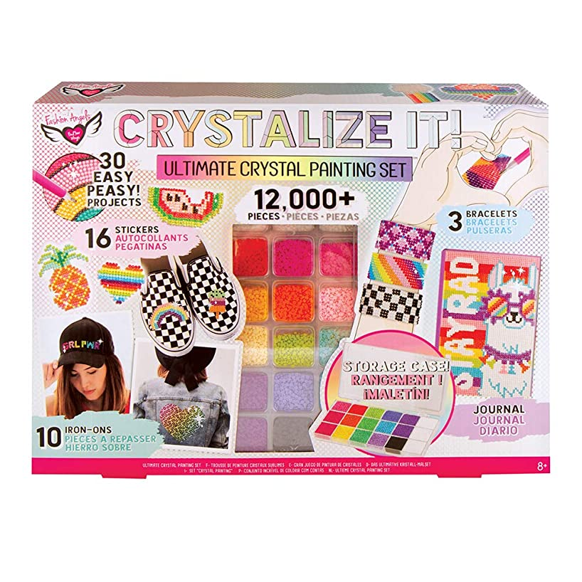 CRYSTALLIZE IT! Crystal Painting Set (Ultimate Kit)
