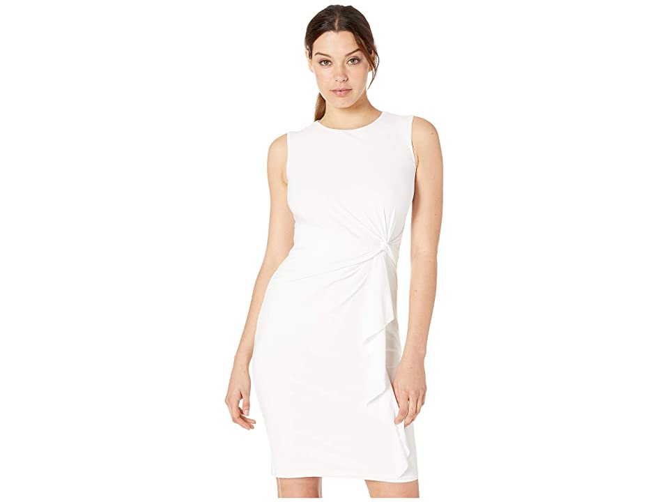 LAUREN Ralph Lauren Adebola Dress (White) Women