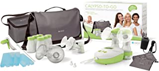 Ardo Calypso to-Go Double Electric Breast Pump - Ultra Quiet - 3-in-1 Single, Double and Manual Pumping - Cool Bag - Breas...