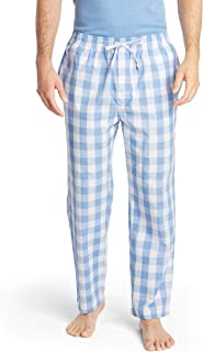 Nautica Men's Soft Woven 100% Cotton Elastic Waistband Sleep Pajama Pant