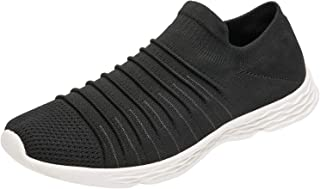 Men's Sock Shoes Breathable Knit Sneakers Mesh Lightweight Walking Shoes