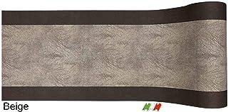 80 cm. CASA TESSILE Tapis Multi-Usage de 51 cm de Large Beige SCREZIATED coup/é /à Vivre