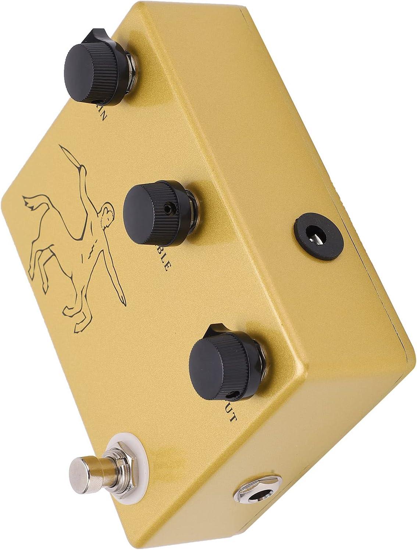 Pedal de guitarra, multiusos compacto y portátil Peda de efectos Classic Circuito 100% analógico para guitarras eléctricas para bajos