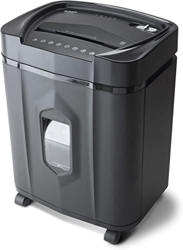 Aurora AU1415XA 14-Sheet Crosscut Paper/CD and Credit Card Shredder/ 5-Gallon pullout Basket/ 10 Minutes Continuous R...