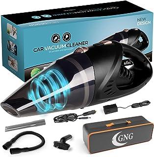 GNG Handheld Portable Car Vacuum Cleaner Vacuum, Cordless Vacuum, 6000 PA Portable Vacuum Cleaner Rechargeable