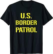 US Border Patrol Halloween Costume ICE T-Shirt