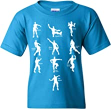 UGP Campus Apparel Emote Dances - Funny Youth T Shirt