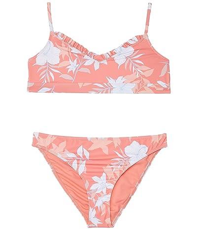 Roxy Kids Bloom Paradise Bralette Set Swimsuit (Big Kids)
